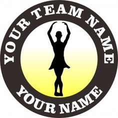 The customized ballet Logo is designed exactly as your request. You can choose any Team Name, Dancer'Name and Number, Background Colors and Image Inside its Circles by any size. Team Names, Colorful Backgrounds, Ballet, Logos, Iron, Logo, Ballet Dance, Dance Ballet, Steel