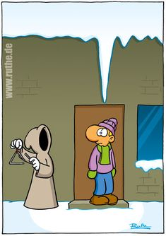 Cartoon Funny Pix, Funny Cute, Funny Pictures, Funny Cartoons, Funny Comics, Cartoon Jokes, Comic Styles, Grim Reaper, Just Smile