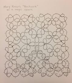 """Tatting by the Bay: Mary Konior's """"Patchwork"""" as a magic square"""