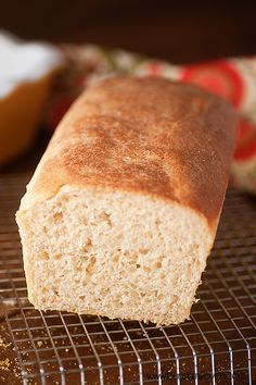 English muffin bread recipe 2  - This is a different recipe from the one that I have used for years.  I think it is worth a try - the milk may soften the texture and there is less sugar.