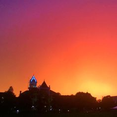 Who doesn't love the spot where the sunset glows?! #ususummer #utahstate #aggies