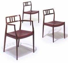 1966 Dining Chair by Niels Moller - Vintage Danish Rosewood