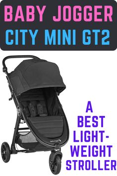 Baby Jogger City Mini GT2 Stroller is the first best lightweight stroller in our top 10 baby stroller reviews. It features 5-point harness to keep your child safely secured, air rubber tires with all-wheel suspension, Full-coverage UV 50 canopy with magnetic peekaboo windows, and Adjustable handlebar and hand-operated parking brake. If you lift a strap with one hand the city mini GT2 Stroller folds itself simply and compactly. #bestlightweightstroller #bestbabystroller #babystroller #stroller Best Lightweight Stroller, Best Baby Strollers, Baby Jogger, Baby Swings, Travel System, Rubber Tires, Fun To Be One, Little Babies, Canopy