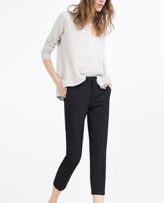 Image 2 of CHINO TROUSERS from Zara