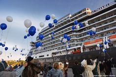Saguenay Celebrates: Eurodam Marks 100th Cruise Ship Call