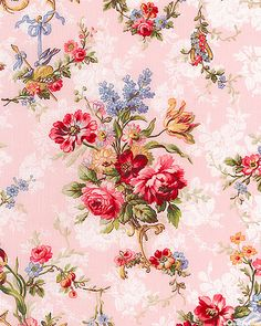 32 Ideas For Shabby Chic Wallpaper Vintage Wallpapers Pattern Pink Roses Vintage Rosen, Vintage Diy, Vintage Paper, Vintage Images, Wallpaper Flower, Iphone Wallpaper, Beautiful Wallpaper, Iphone Backgrounds, Bts Wallpaper