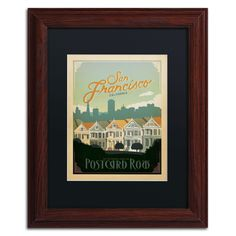 'San Francisco II' by Anderson Design Group Framed Graphic Art