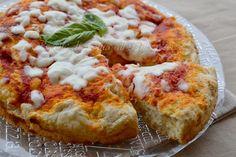 Pizza veloce con farina autolievitante pronta in 20 minuti,ottima per una cena improvvisa con amici
