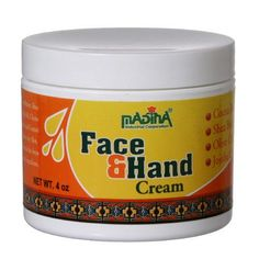 MADINA FACE & HAND CREAM HELPS RESTORE AND CONTROL ESSENTIAL MOISTURE