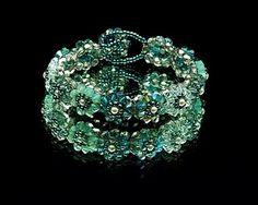 Right angle weave handmade bracelet