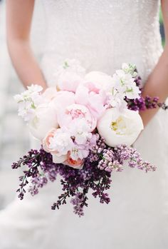 Love the pink, peach and lavender purple!