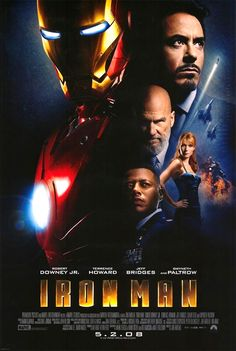Iron Man...love this movie
