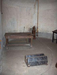 Fort van Breendonk - folterkamer-Wikipedia