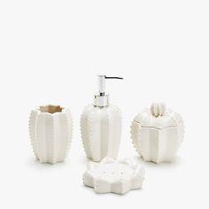 Cactus shaped bathroom set