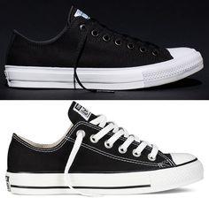 5e52ca410583 How The Converse Chuck Taylor All Star   Chuck II Compare