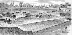 Chaudiere Island Mill Wharf 1860 Ottawa, Opera House, Louvre, Island, Building, Travel, Block Island, Buildings, Islands