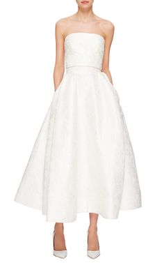 Monique Lhuillier Bridal Look 5 on Moda Operandi