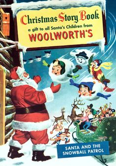 Woolworth's Christmas Story Book