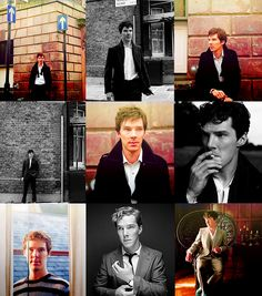 Benedict Cumberbatch. Fuck a duck, this man is gorgeous.