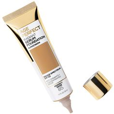 This Serum Foundation Is Secretly Anti-Aging — Even Helen Mirren Uses It Foundation With Spf, Matte Foundation, Perfect Foundation, Skin Undertones, Sunscreen Spf 50, Classic Tan, Hydrating Serum, Minimal Makeup, L'oréal Paris