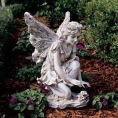 Design Toscano Fiona Flower Fairy Garden Statue