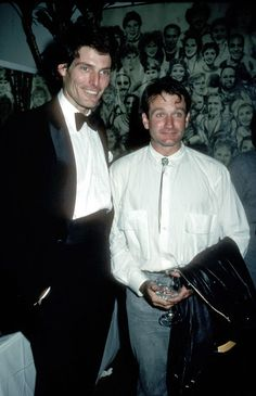 The Lifelong Friendship Of Robin Williams and  Christopher Reeve - Did you know they both went to Juilliard together . . . Back in the day?
