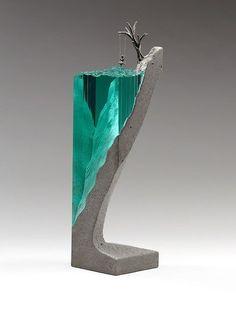 Что можно сделать если у тебя есть стекло, бетон, и прямые руки Стекло, бетон, длиннопост, Ben Young