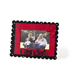 Grandkids with Hearts Magnet Set and Scalloped Edge Memo Board from Embellish Your Story by Roeda.