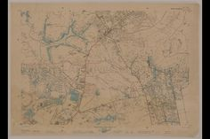 An old map of Singapore showing Singapore in 1825 (image taken from ...