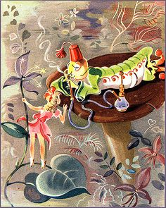 Vintage Alice illustration