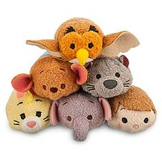 Winnie The Pooh Too Mini ''Tsum Tsum'' Plush Collection