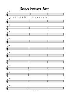 escalas mixolidias bebop Piano Music, Sheet Music, Bebop, Musical, Jazz, Theory, Guitars, Songs, Music Score