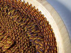 Loom Knitting Dropped Seed Stitch