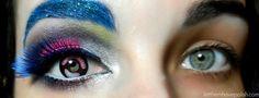 Neon Cyborg Eye Look- Makeup Magic lolol :D