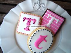 Bambella Cookie Boutique | Monograms