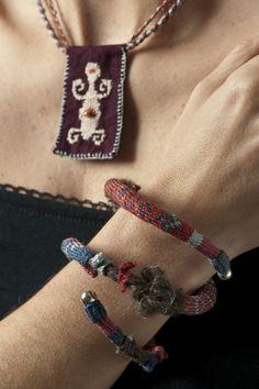 Necklace and Bracelet Arica Set/ Conjunto Arica de collar y pulsera