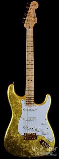 Fender Masterbuilt NOS Clapton Gold Leaf Stratocaster by Todd Krause #vintage #guitars