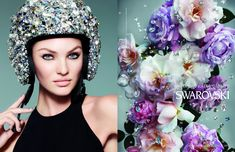 Candice Swanepoel Stars In Swarovski's Spring Summer 2013 Campaign Shot By Nick Knight | Grazia Fashion