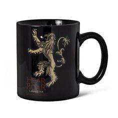 SD Toys - Le Trône de fer mug Lannister noir @ niftywarehouse.com
