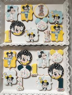 Mickey Mouse cookies  - cookie by Martina Encheva