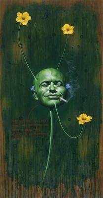 Self - Ashley Bickerton - 1997 - 2825 Arlene Shechet, 1980s Art, Grayson Perry, Jeff Koons, East Village, Contemporary Artists, Cube, Art Projects, Lord