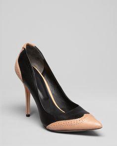 Rachel Roy Pointed Toe Cap Toe Pumps - Ana High Heel | Bloomingdales