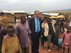 El Delegado Permanente de la RASD ante la UA encabeza una delegación africana para examinar la situación de los refugiados y desplazados en Ruanda | Sahara Press Service