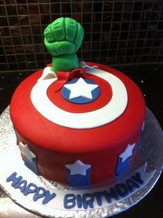 avengers+birthday+cakes | Avengers Birthday Cake — Children's Birthday Cakes