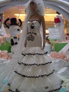 Snoopy Wedding Dress