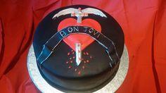 Bon Jovi cake by Konstantina Chalkia