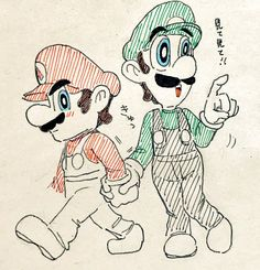 Mario and Luigi Marvel Cartoon Movies, Cartoon Ships, Super Mario Rpg, Super Mario World, Mario Kart, Mario Bros, Green Warriors, Mario And Princess Peach, Paper Mario