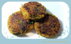 Raw Banana Quinoa Tikkis (Burger Patty)