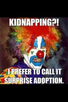 He's from the movie it yes it his name penny wise the clown