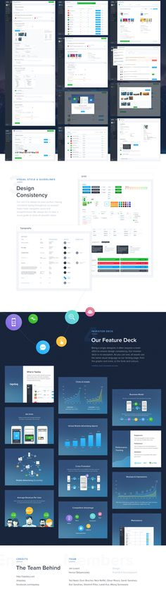 Tapdaq - Dashboard & Visual Design Overview on Behance